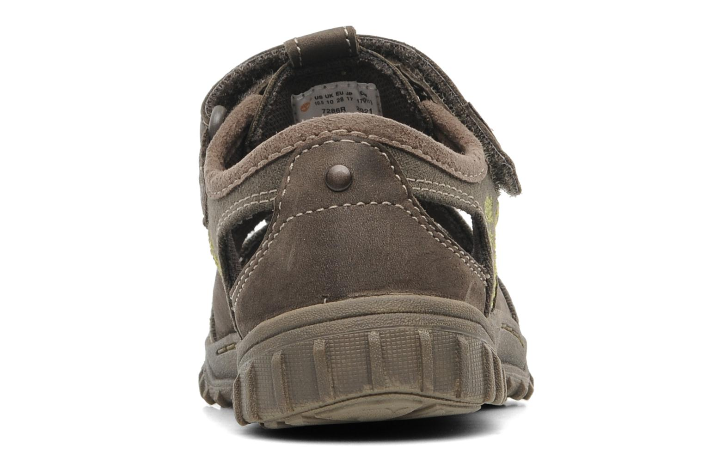 Sneakers Timberland EK Castleton Fisherman Bruin rechts