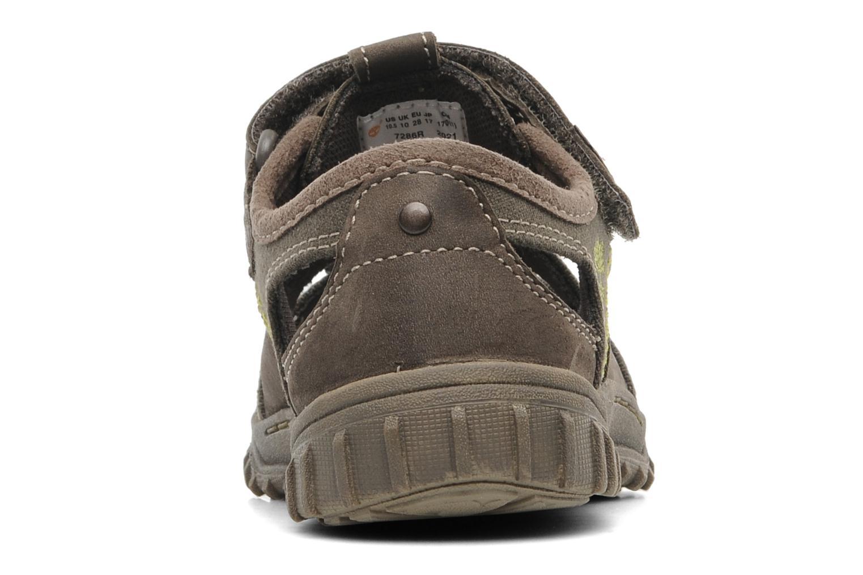 Sneakers Timberland EK Castleton Fisherman Marrone immagine destra