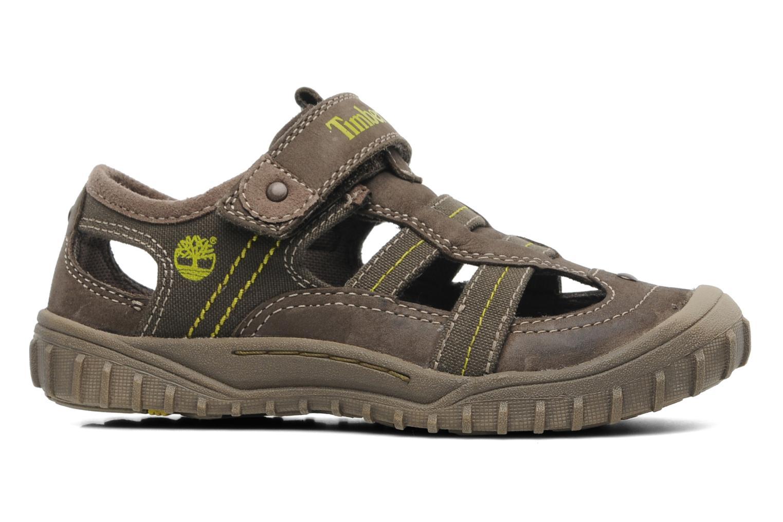Sneaker Timberland EK Castleton Fisherman braun ansicht von hinten