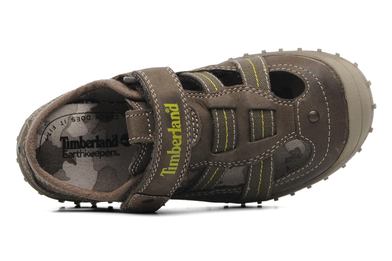 Sneaker Timberland EK Castleton Fisherman braun ansicht von links