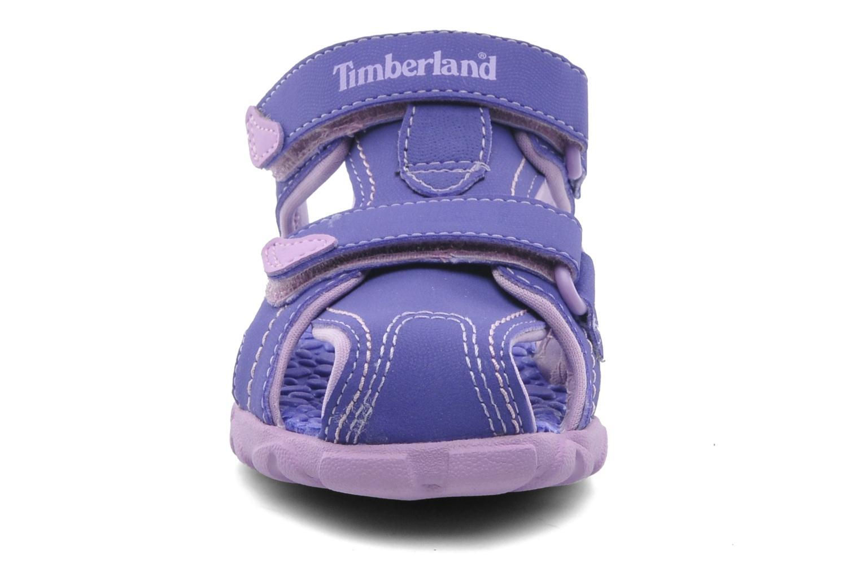 Sandales et nu-pieds Timberland Splashtown Closed Toe Sandal Violet vue portées chaussures