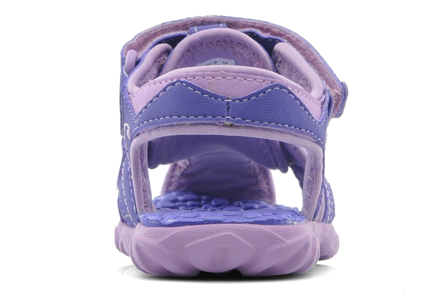 Sandals Timberland Splashtown Closed Toe Sandal Purple view from the right
