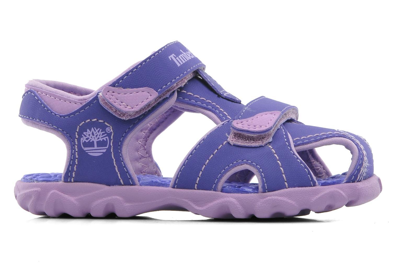 Sandales et nu-pieds Timberland Splashtown Closed Toe Sandal Violet vue derrière