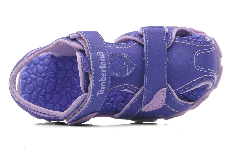 Sandales et nu-pieds Timberland Splashtown Closed Toe Sandal Violet vue gauche