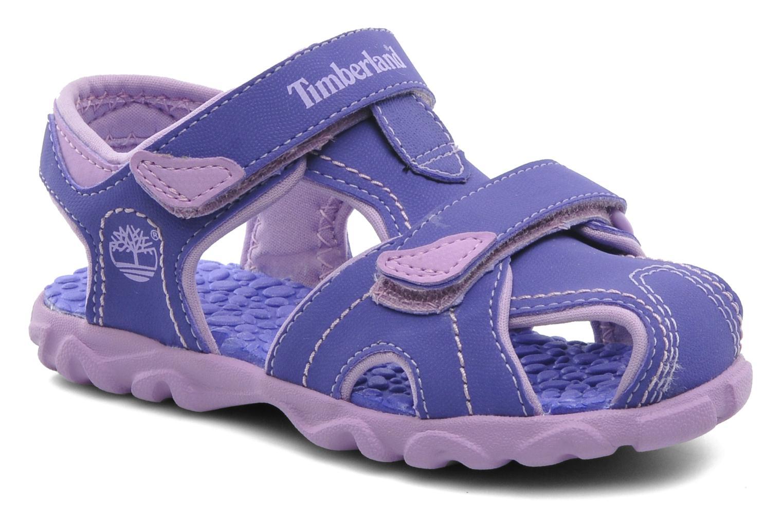 Sandals Timberland Splashtown Closed Toe Sandal Purple detailed view/ Pair view