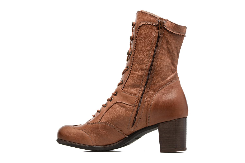 Bottines et boots Dkode Vylma Marron vue face