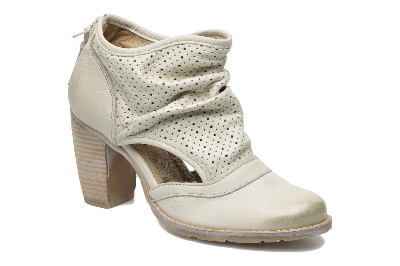 Ankelstøvler Dkode Bahal Beige detaljeret billede af skoene