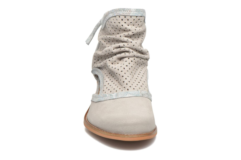 Stiefeletten & Boots Dkode Bahal weiß schuhe getragen