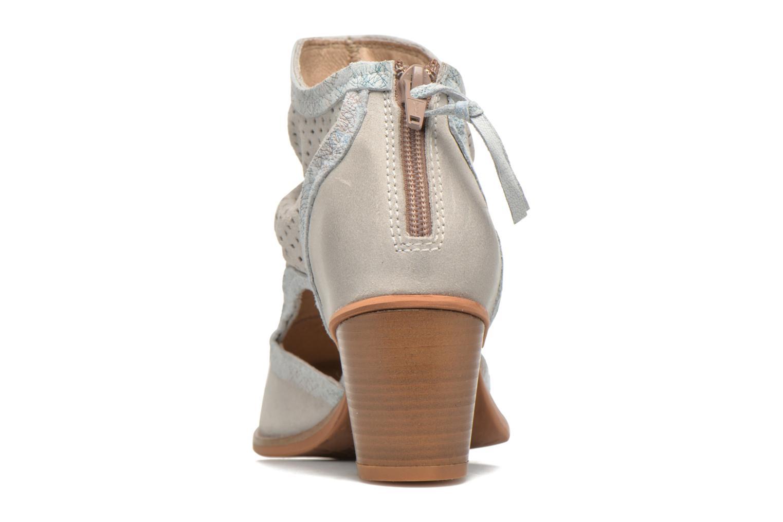Bottines et boots Dkode Bahal Blanc vue droite