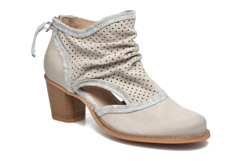 Bottines et boots Dkode Bahal Blanc vue détail/paire