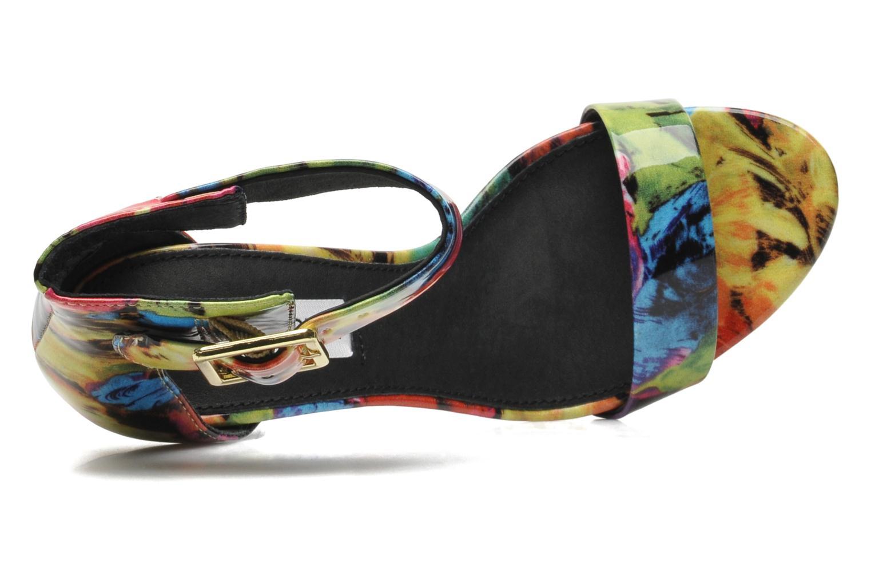 Sandales et nu-pieds Steve Madden Marlenee Multicolore vue gauche