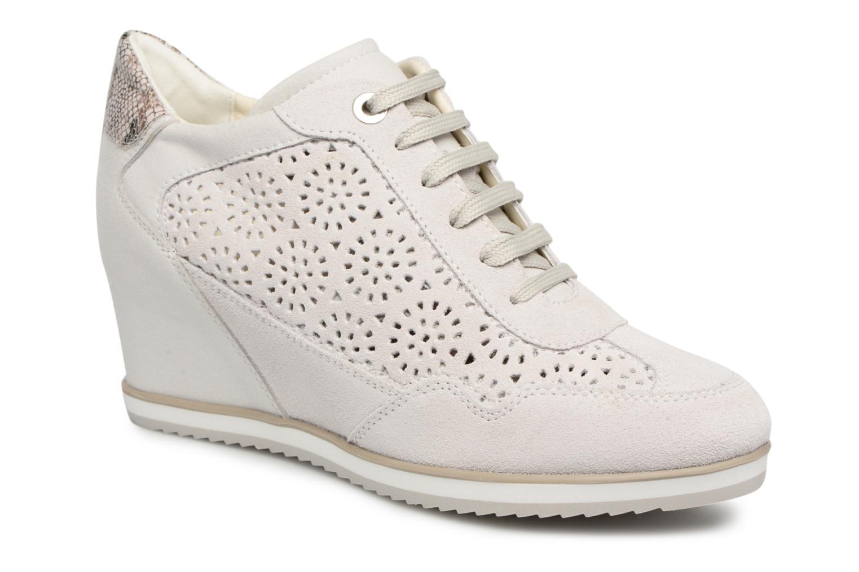 Grandes descuentos últimos zapatos Geox D Illusion b (Blanco) - Deportivas Descuento