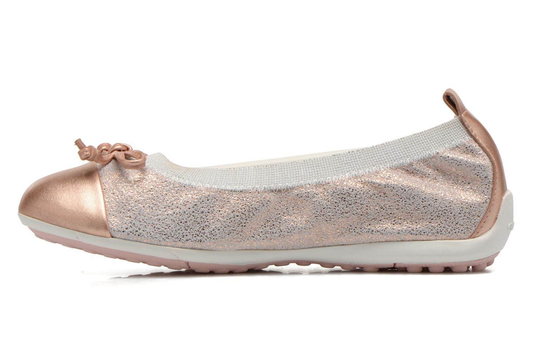 Ballerina's Geox Jr Piuma ball J42B0D Roze voorkant