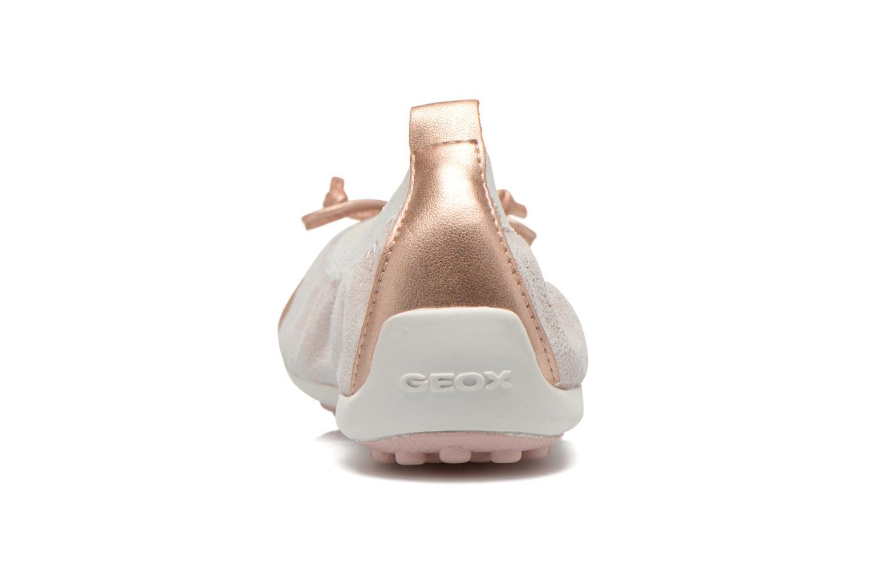 Ballerina's Geox Jr Piuma ball J42B0D Roze rechts