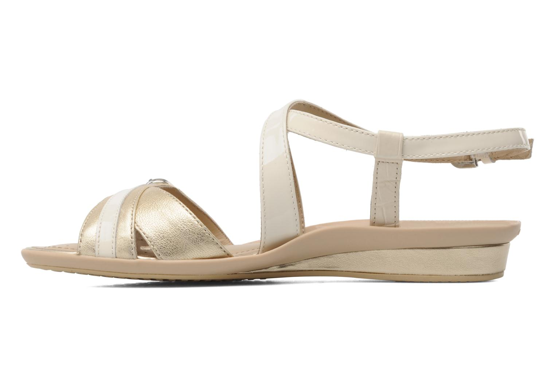 Sandales et nu-pieds Geox D Emelyne D Beige vue face