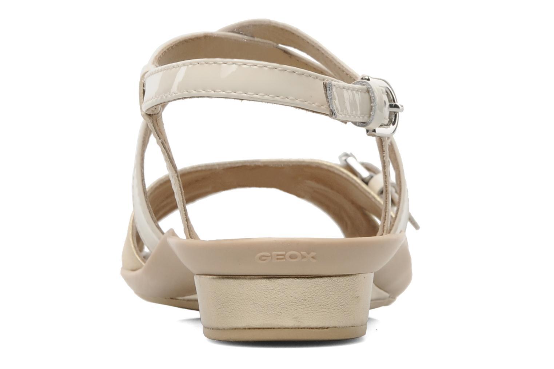 Sandales et nu-pieds Geox D Emelyne D Beige vue droite