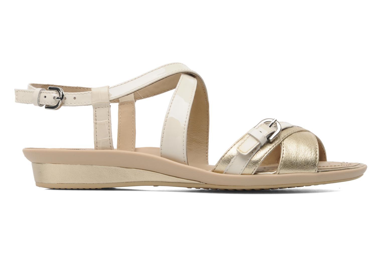 Sandales et nu-pieds Geox D Emelyne D Beige vue derrière