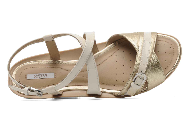 Sandales et nu-pieds Geox D Emelyne D Beige vue gauche