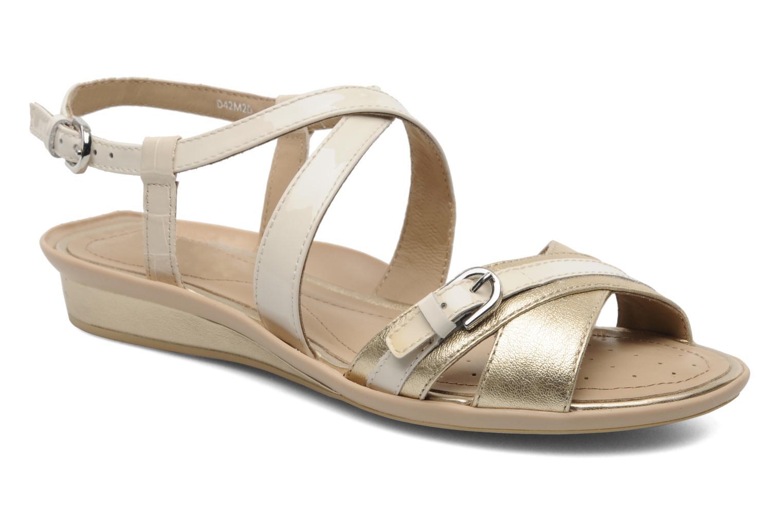 Sandales et nu-pieds Geox D Emelyne D Beige vue détail/paire