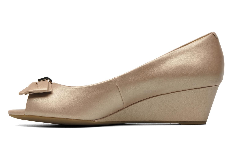 Zapatos de tacón Geox D Floralie B Beige vista de frente