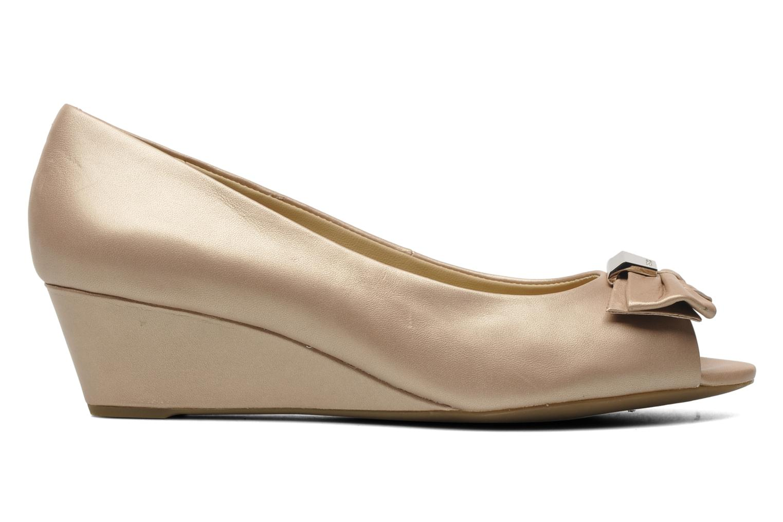 Zapatos de tacón Geox D Floralie B Beige vistra trasera
