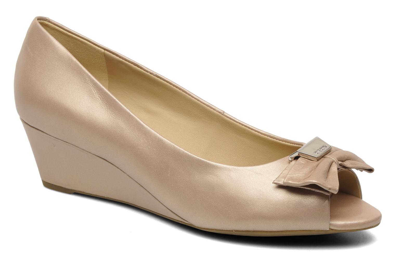 Zapatos de tacón Geox D Floralie B Beige vista de detalle / par