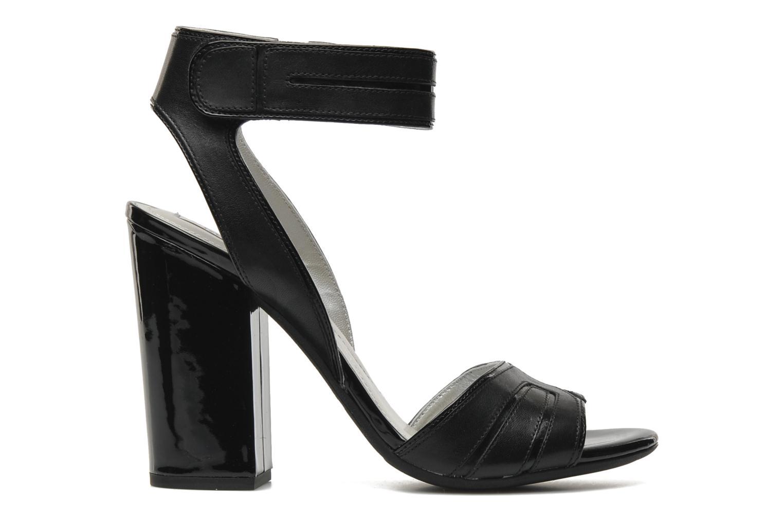 Sandals Geox D Nolina B Black back view