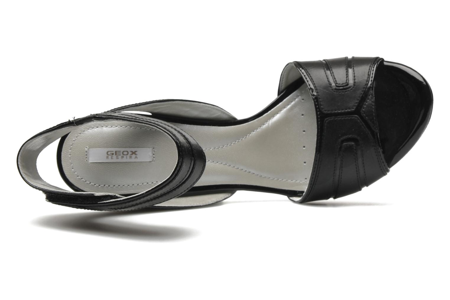 Sandals Geox D Nolina B Black view from the left