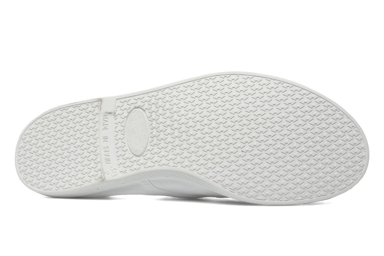 Sneaker Kaporal Vickana weiß ansicht von oben