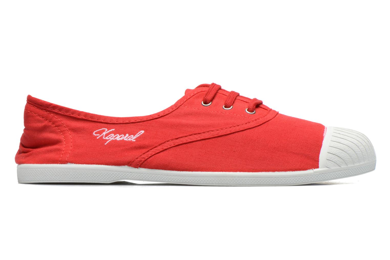Sneaker Kaporal Vickana rot ansicht von hinten