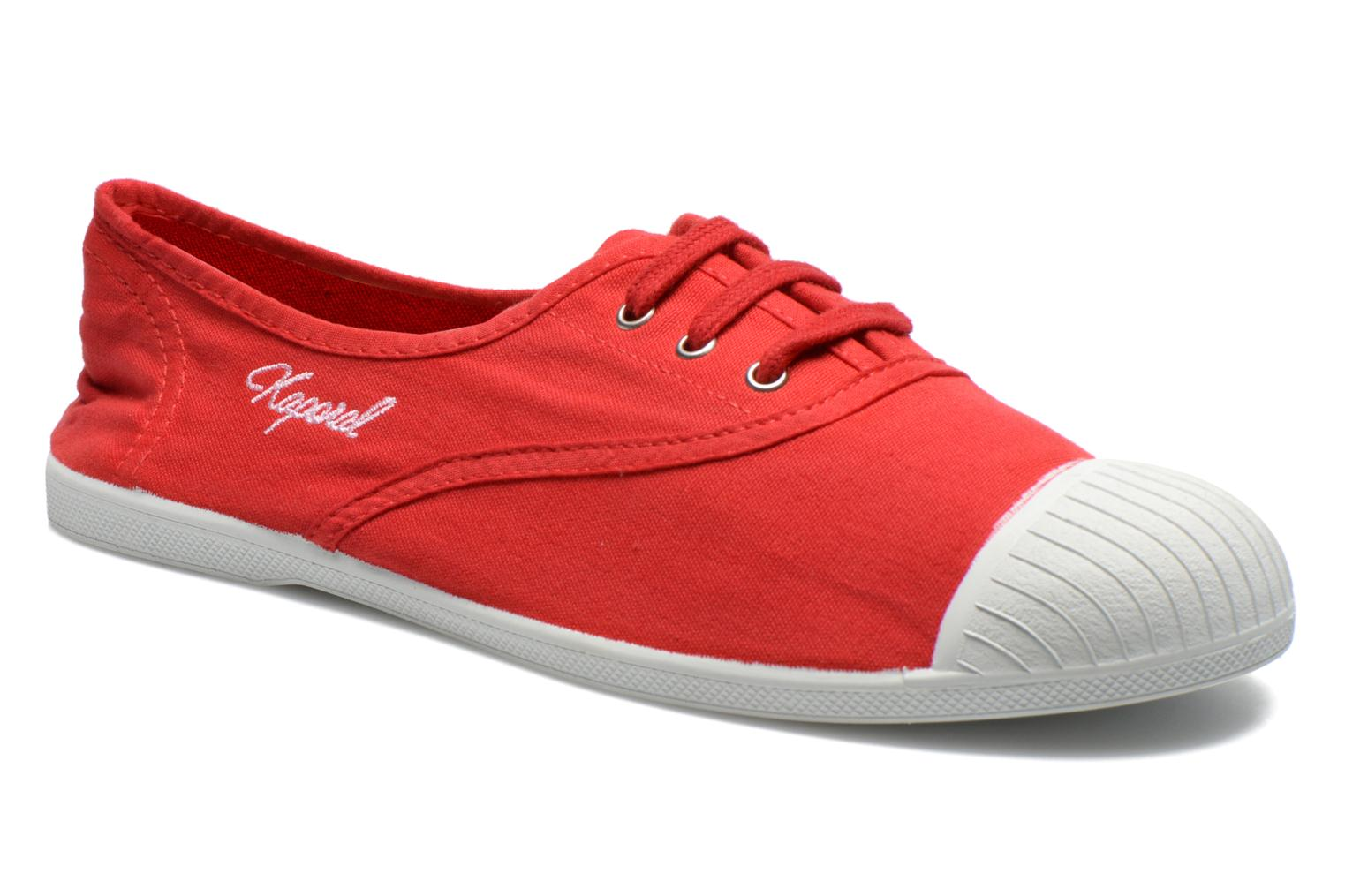 Trainers Kaporal Vickana Red detailed view/ Pair view