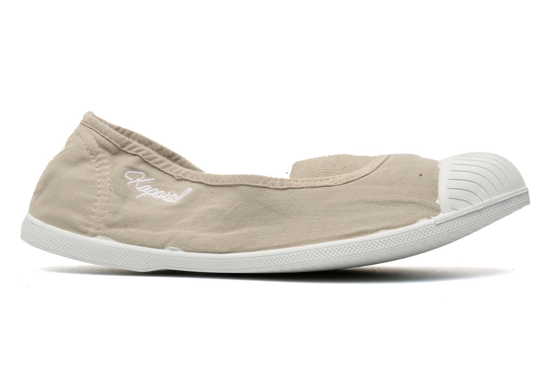 Sneaker Kaporal Vandana beige ansicht von hinten