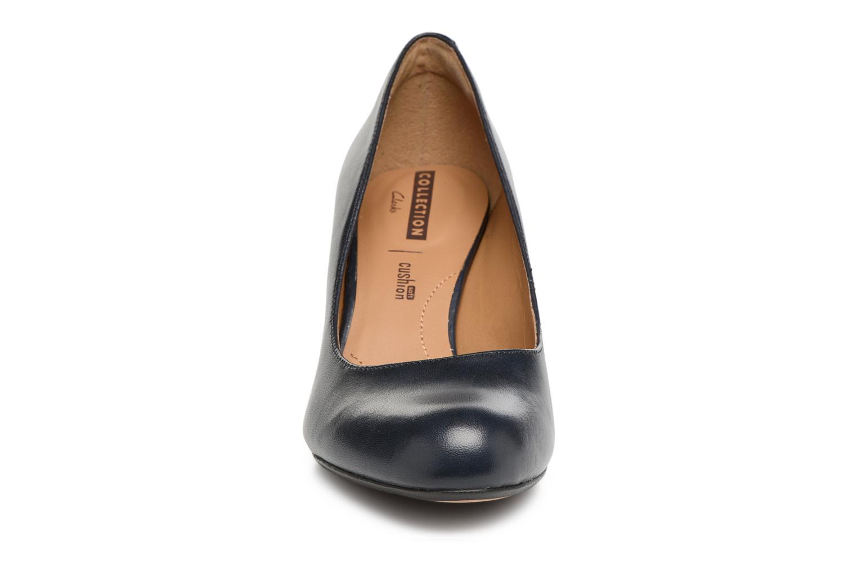 Escarpins Clarks Arista Abe Bleu vue portées chaussures
