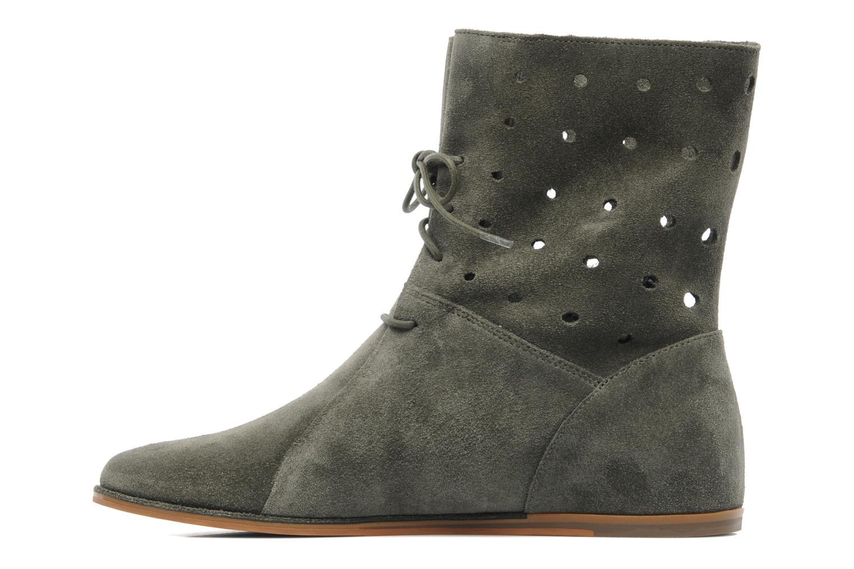Boots en enkellaarsjes Clarks Maelie Glitter Groen voorkant