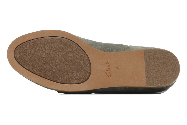 Boots en enkellaarsjes Clarks Maelie Glitter Groen boven