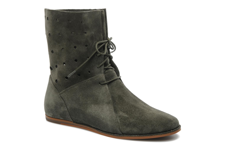 Boots en enkellaarsjes Clarks Maelie Glitter Groen detail