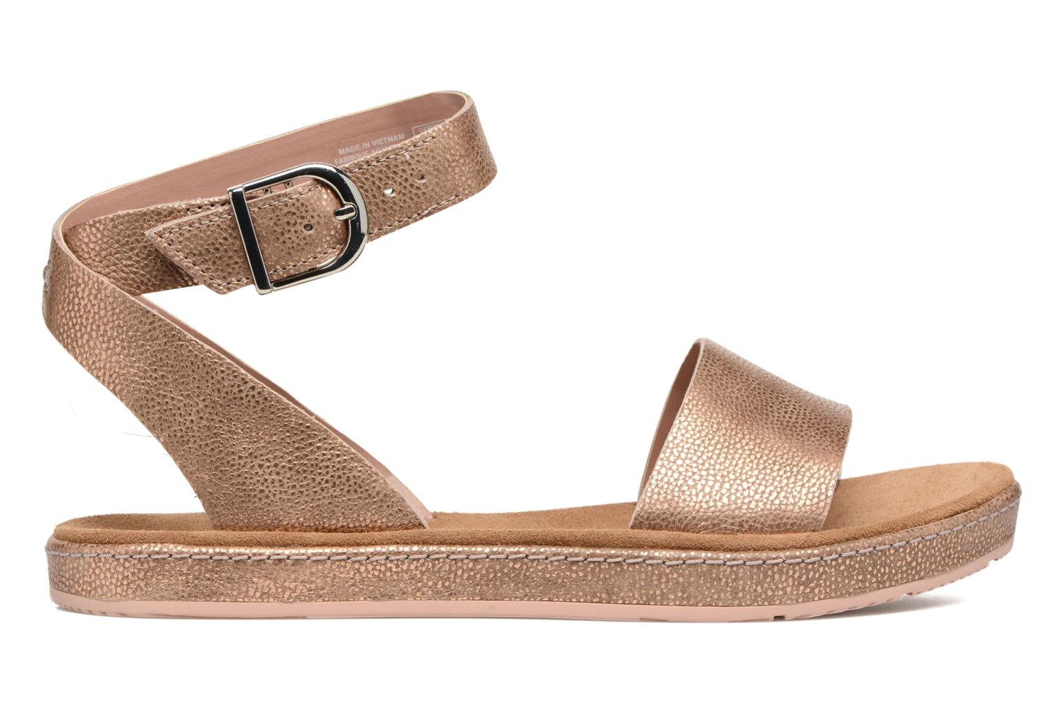 Sandals Clarks Romantic Moon Pink back view