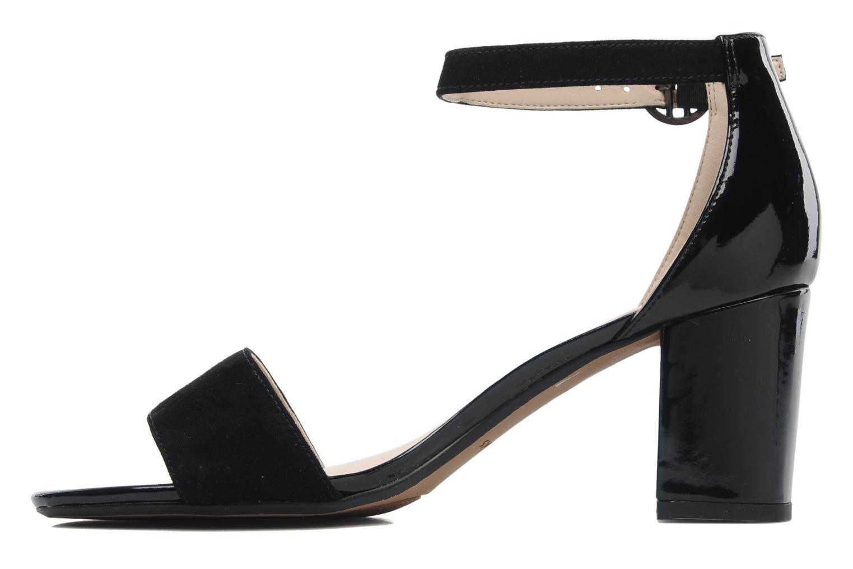 Sandales et nu-pieds Clarks Susie Deva Noir vue face