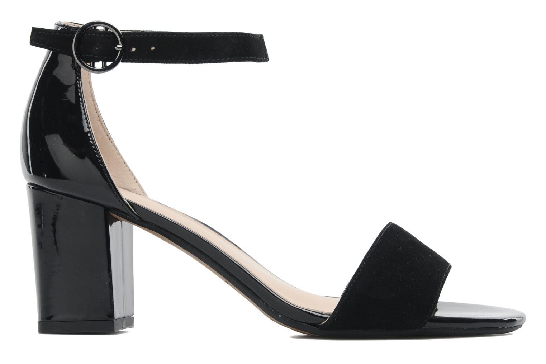 Sandales et nu-pieds Clarks Susie Deva Noir vue derrière