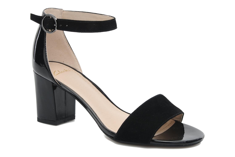 Sandales et nu-pieds Clarks Susie Deva Noir vue détail/paire