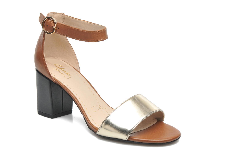 Sandales et nu-pieds Clarks Susie Deva Marron vue détail/paire