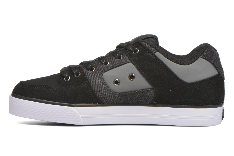 Baskets DC Shoes Pure SE Noir vue face