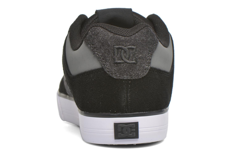 Sneaker DC Shoes Pure SE schwarz ansicht von rechts