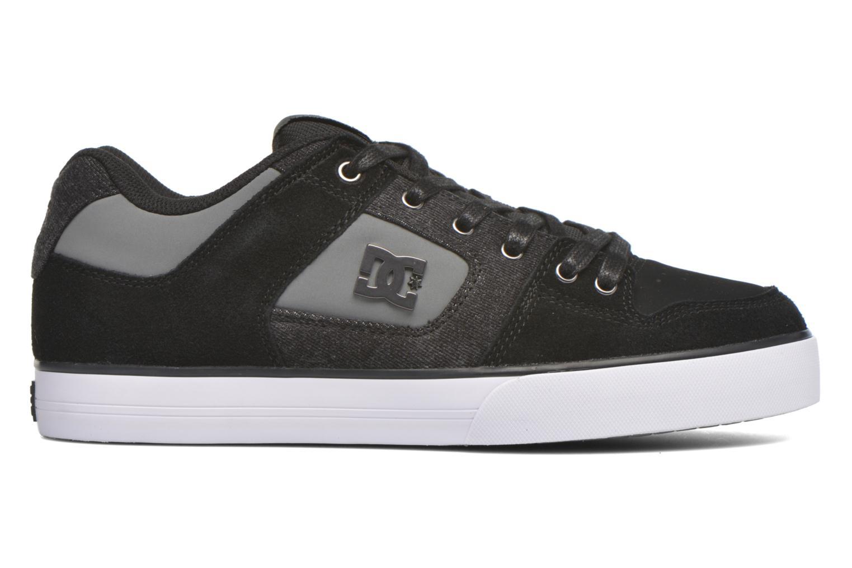 Baskets DC Shoes Pure SE Noir vue derrière