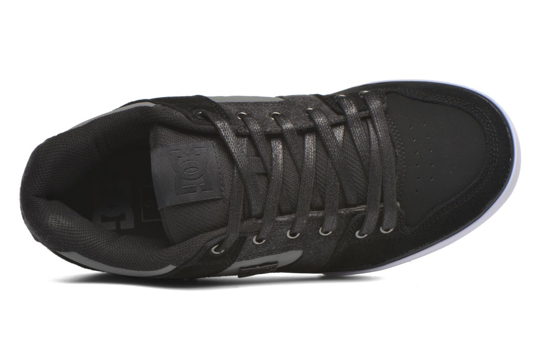 Sneaker DC Shoes Pure SE schwarz ansicht von links