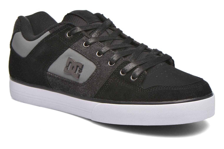 Baskets DC Shoes Pure SE Noir vue détail/paire