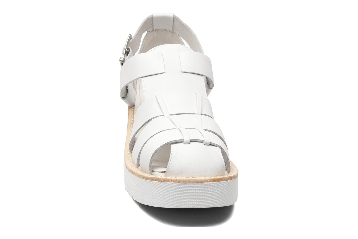 Argo White Calf Leather