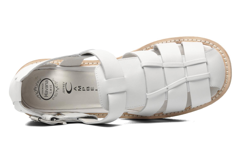 Argo White Calf Leather