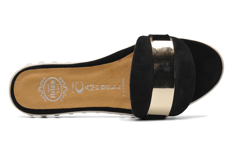 JC-035-10 Black Suede Gold
