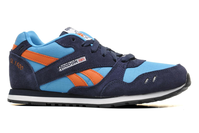 Sneakers Reebok GL 1500 Blauw achterkant